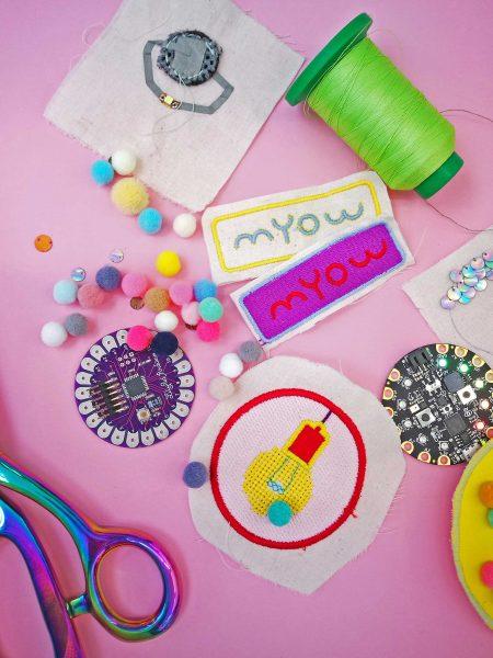 MYOW Electronic Textiles Toolkit